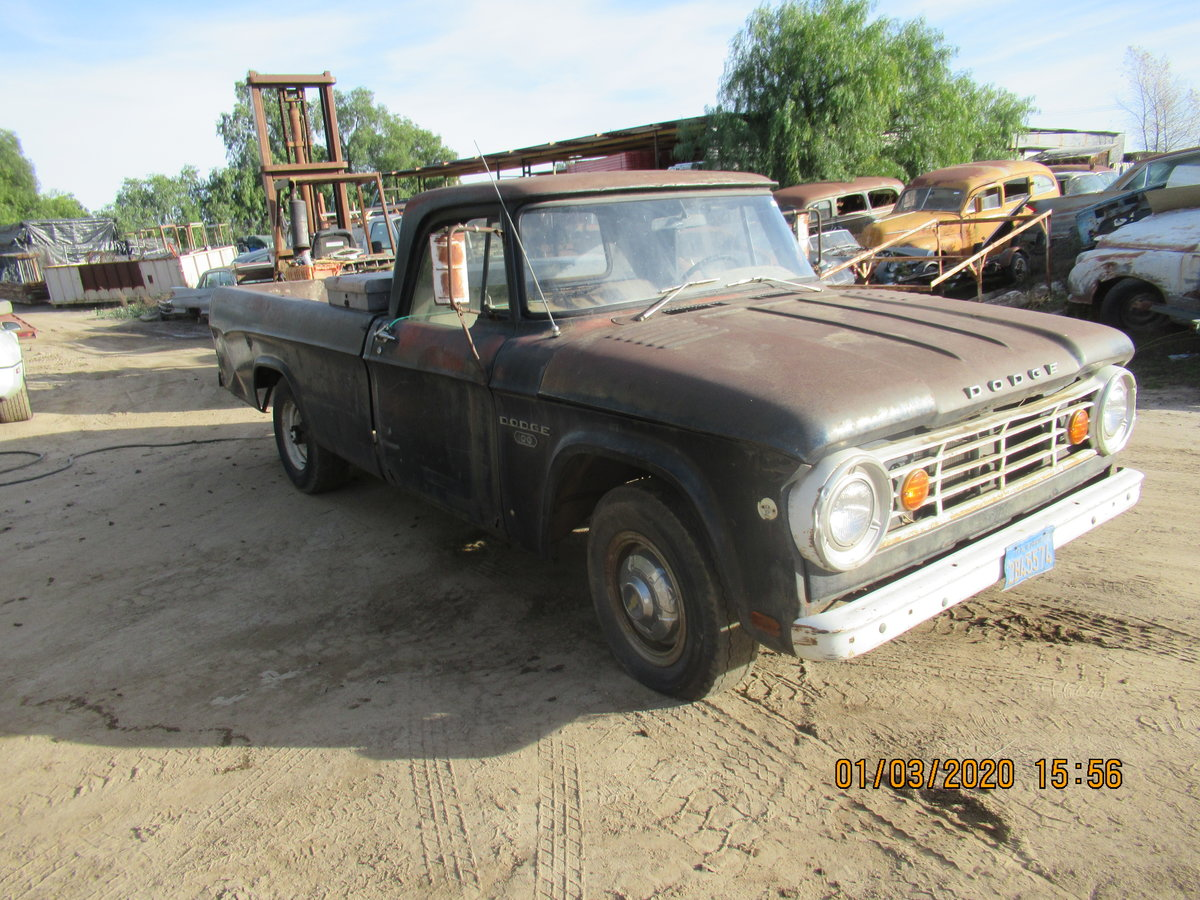 1969 DODGE D100. 1965. V8. manual.   For Sale (picture 4 of 4)