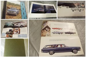 0000 DODGE ORIGINAL AND RARE FACTORY SALES BROCHURES