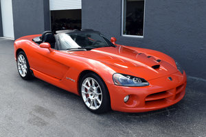 2008 Viper SRT10 Roadster Rare Viper Orange Pearl $57.5k For Sale