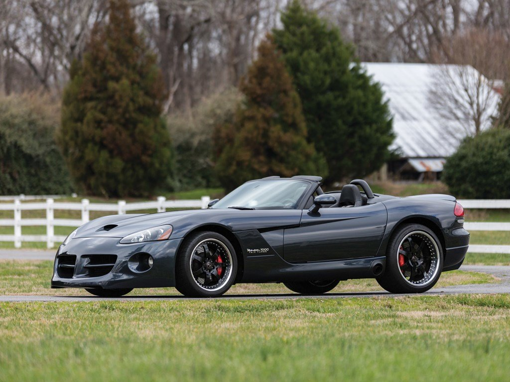 2006 Dodge Hennessey Venom 1000 Twin Turbo Convertible  For Sale by Auction (picture 1 of 6)