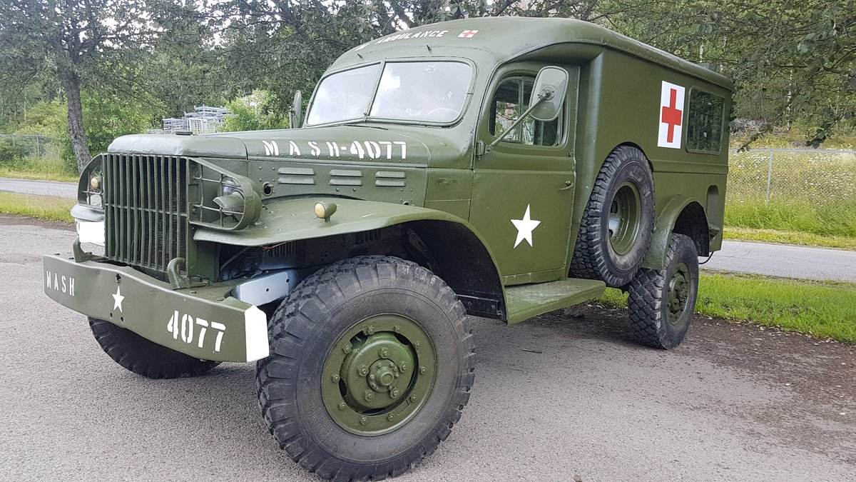 1945 Dodge WC54 Ambulance, military car For Sale (picture 1 of 6)