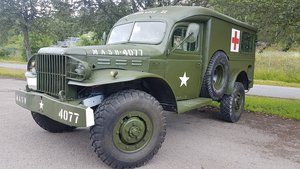 Dodge WC54 Ambulance, military car