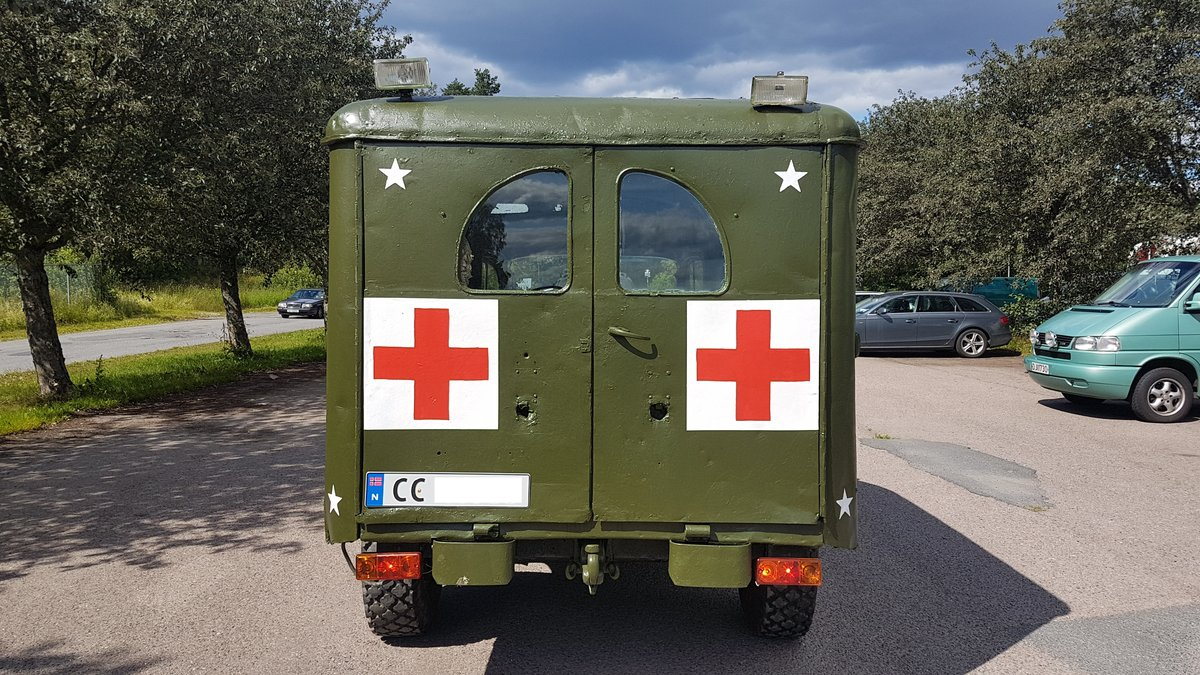 1945 Dodge WC54 Ambulance, military car For Sale (picture 4 of 6)