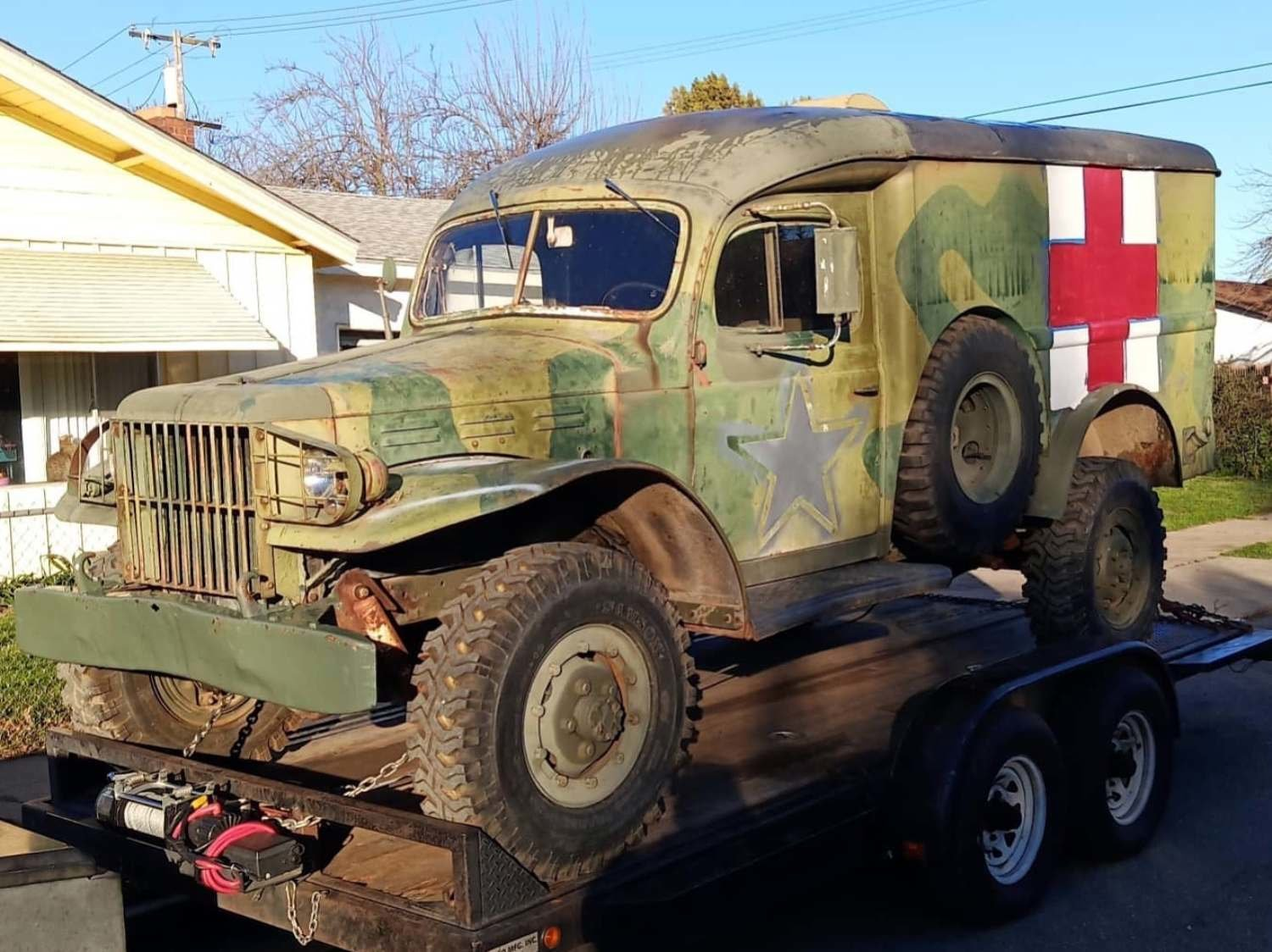 1942 World War 2 WC54 Dodge Ambulance For Sale (picture 1 of 6)