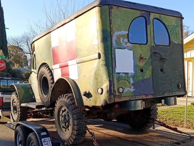 1942 World War 2 WC54 Dodge Ambulance For Sale (picture 3 of 6)