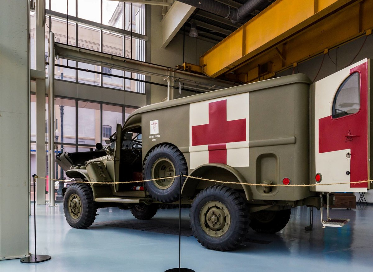 1942 World War 2 WC54 Dodge Ambulance For Sale (picture 4 of 6)