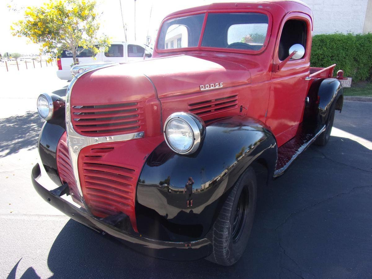 1946 Dodge WC 1/2 Ton Pickup For Sale (picture 2 of 6)