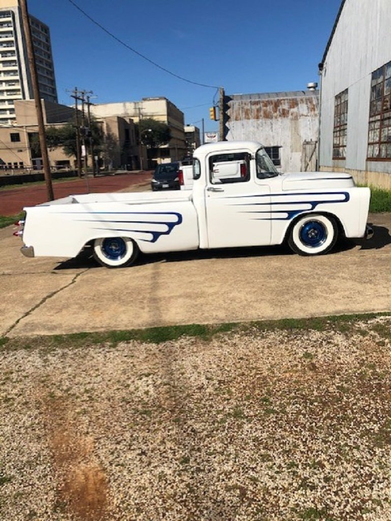 1957 Dodge D100 Sweptside Custom Pickup For Sale (picture 2 of 6)