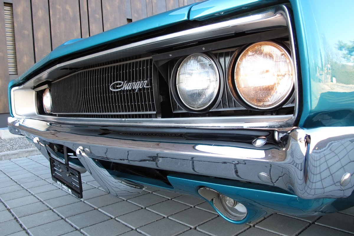 1968 Dodge Charger 383-4 manual  For Sale (picture 2 of 6)