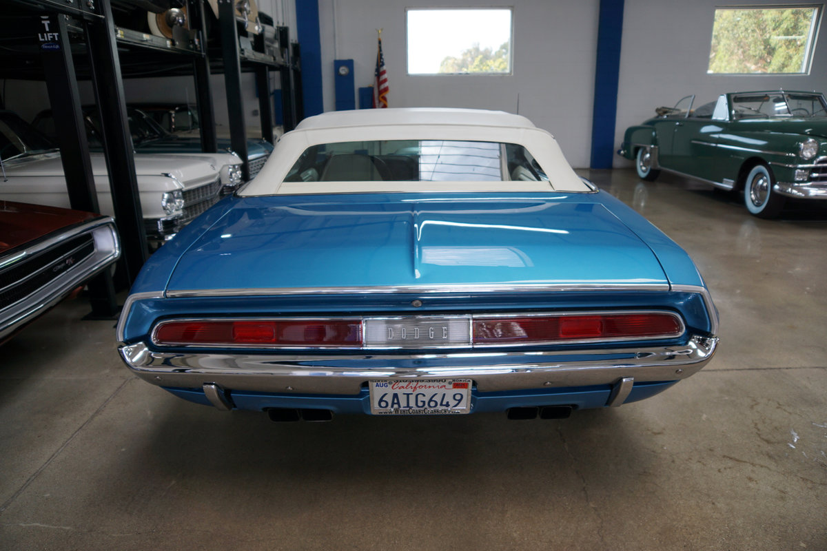 1970 Dodge Challenger R/T Hemi V8 Convertible For Sale (picture 4 of 6)
