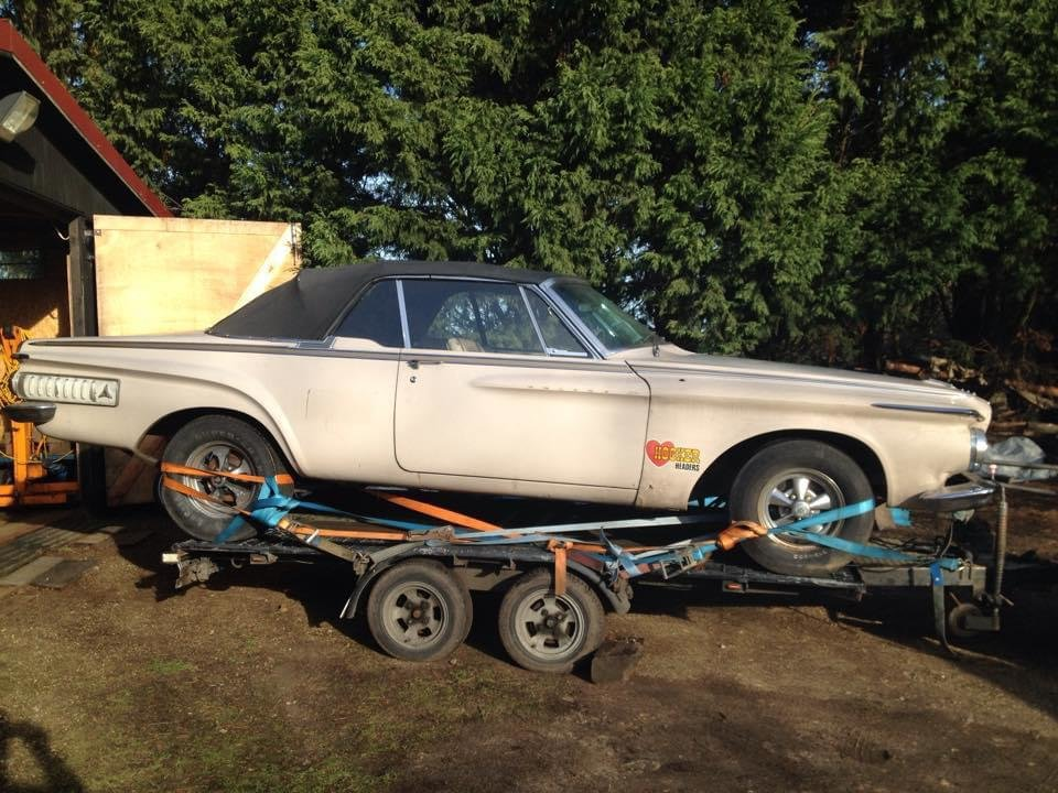 1962 Dodge Polara 500 Convertible For Sale (picture 1 of 1)