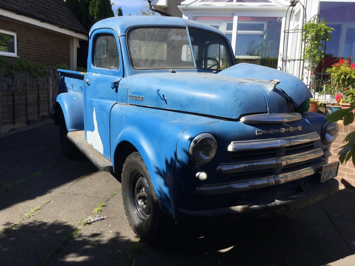 1948 Dodge B1-B Pilot House pickup For Sale (picture 3 of 6)