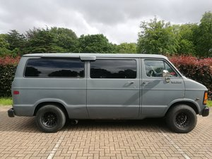 Dodge Ram Wagon B250 Campervan LPG Conversion
