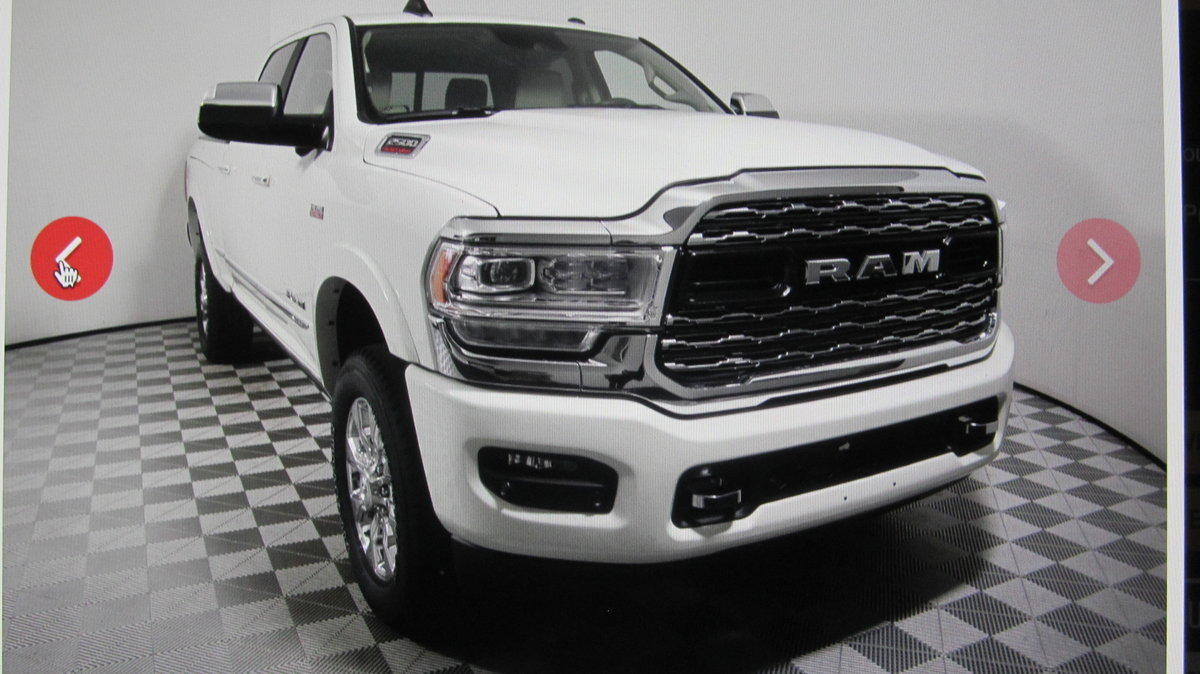 2020 Dodge RAM 2500 6.4L V8 LIMITED 4x4 Crew Cab For Sale (picture 2 of 3)