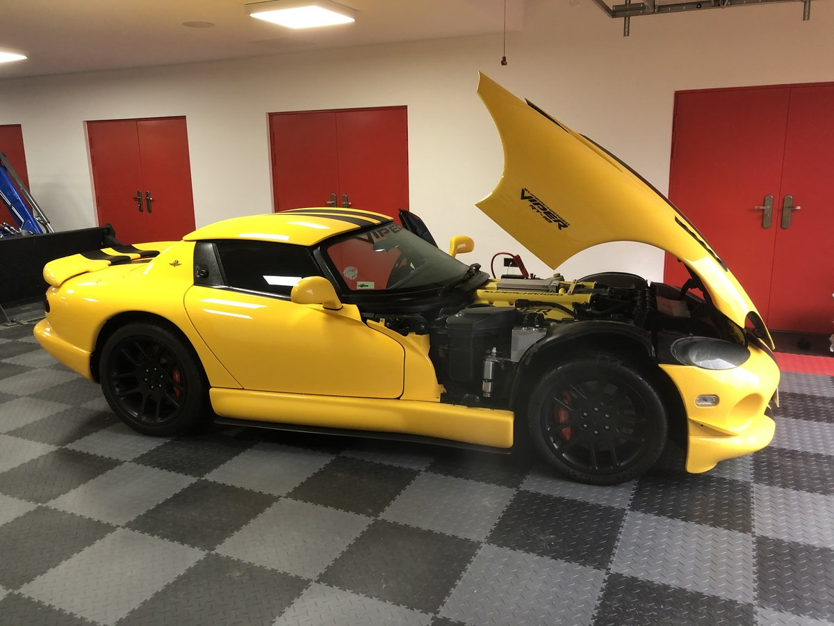 2002 DODGE VIPER RT/10 SUPERCHARGED 742 HP For Sale (picture 1 of 5)