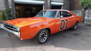 Dodge charger 500 440 magnum/727 orange