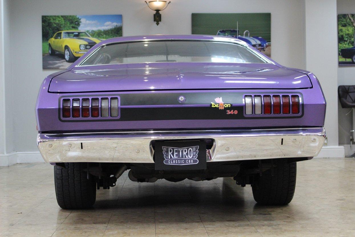 1972 Dodge Demon 340 V8 R/T Auto | Huge Upgrades  SOLD (picture 4 of 10)