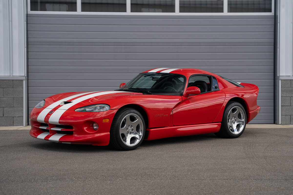 2002 Dodge Viper GTS Final Edition  For Sale (picture 1 of 6)