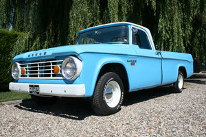Dodge D100 Sweptline Pick Up Truck.Sold.