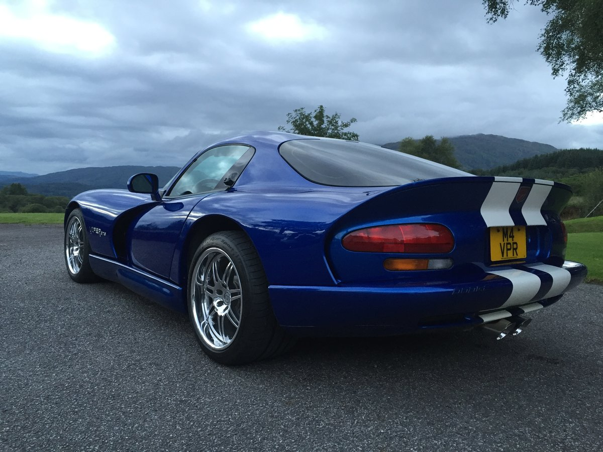 1997 Roe Supercharged Viper GTS For Sale (picture 2 of 5)