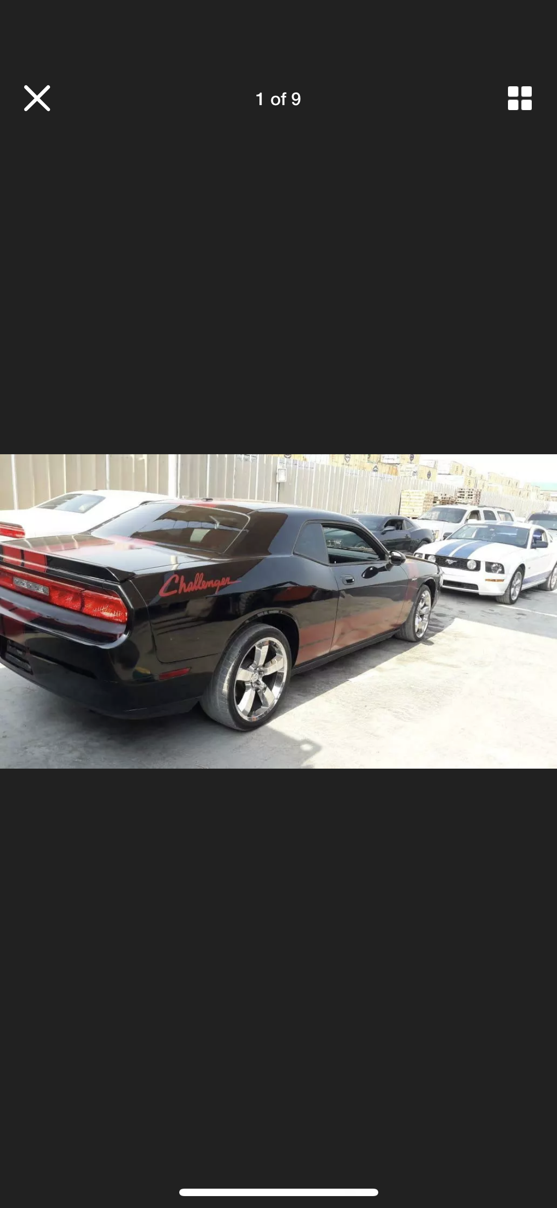 2010 DODGE CHALLENGER 3.6 AUTO NOT HEMI LHD FRESH IMPORT For Sale (picture 3 of 5)