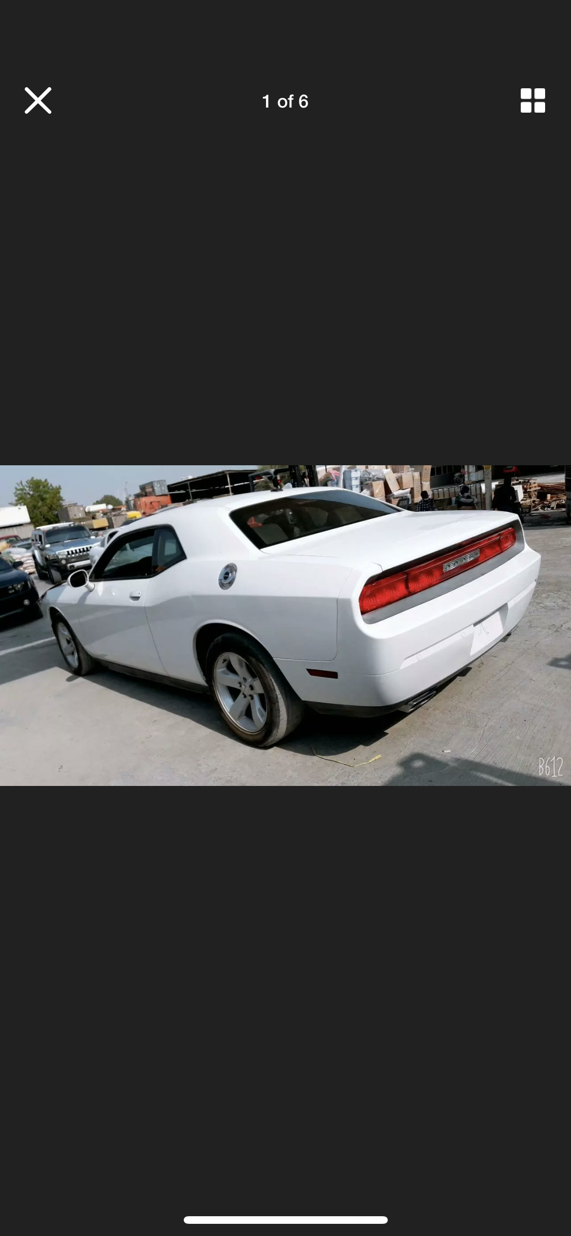 2013 DODGE CHALLENGER 3.6 AUTO NOT HEMI LHD FRESH IMPORT For Sale (picture 1 of 6)