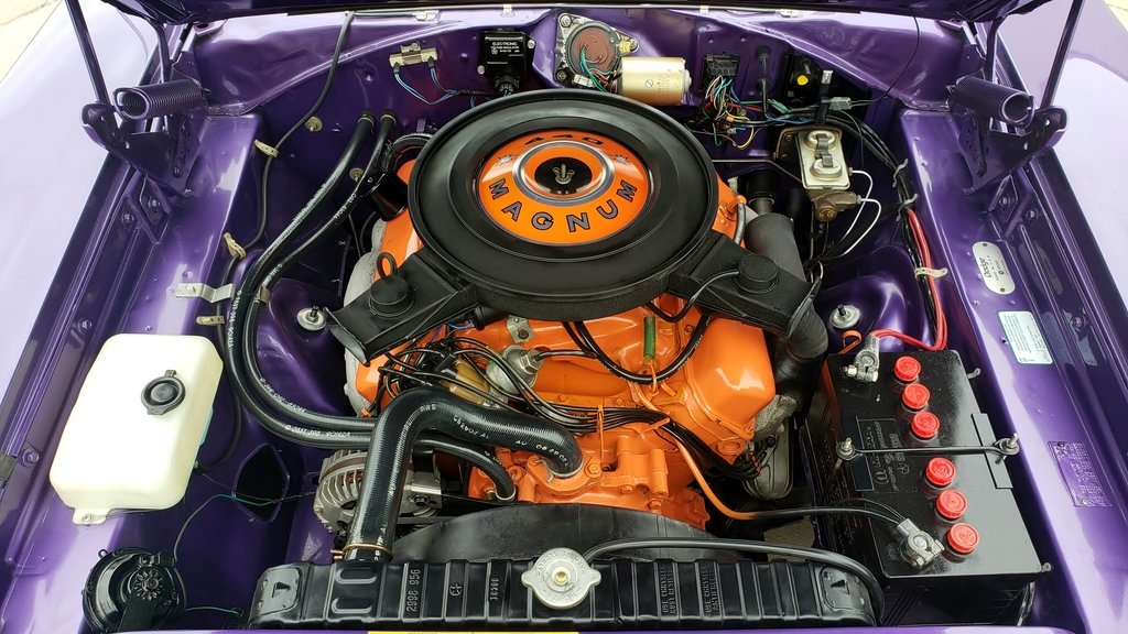 1970 Dodge Charger R/T Purple Rotisserie Restored #s match For Sale (picture 6 of 6)