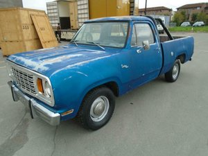 Picture of 1978 DODGE D150 CUSTOM SWB 3.7 LHD PICK UP
