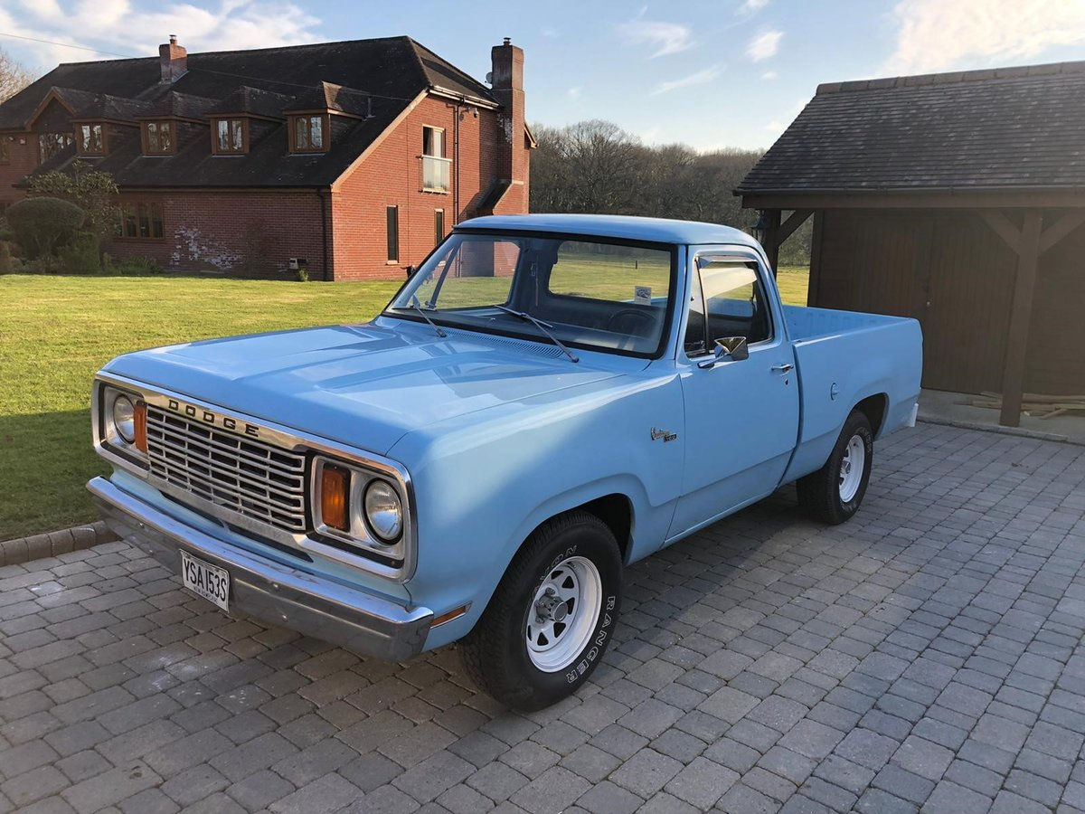 1977 Dodge D100 - Pickup For Sale (picture 2 of 6)