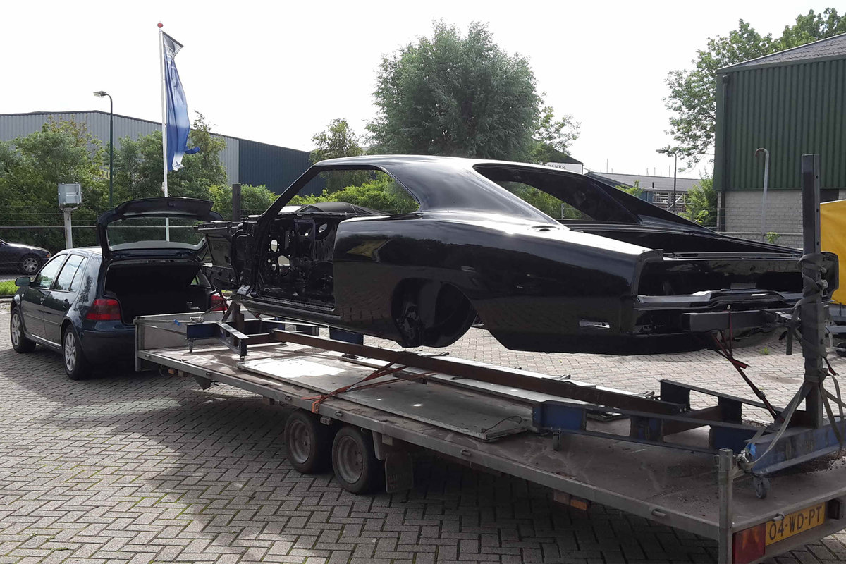 1970 Charger Bigblock tripple black rottiserie restored ! For Sale (picture 3 of 6)