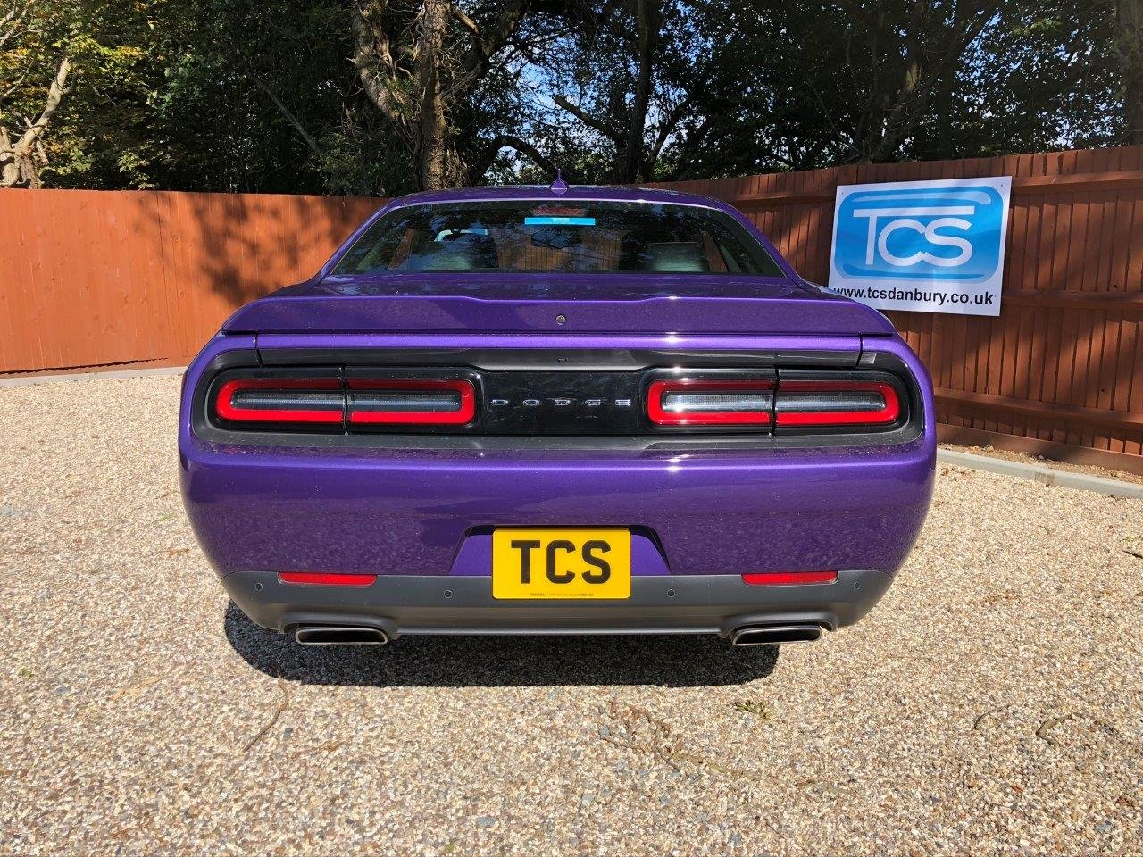2016 Challenger R/T HEMI V8 in Plumb Crazy Purple For Sale (picture 4 of 6)