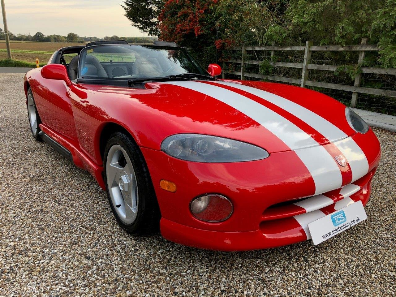 1992 Dodge Viper RT/10 8.0L V10 400bhp 6-Speed Manual For Sale (picture 1 of 6)