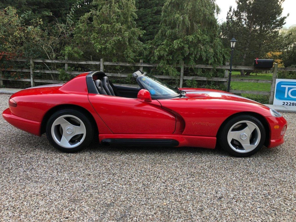 1992 Dodge Viper RT/10 8.0L V10 400bhp 6-Speed Manual For Sale (picture 3 of 6)