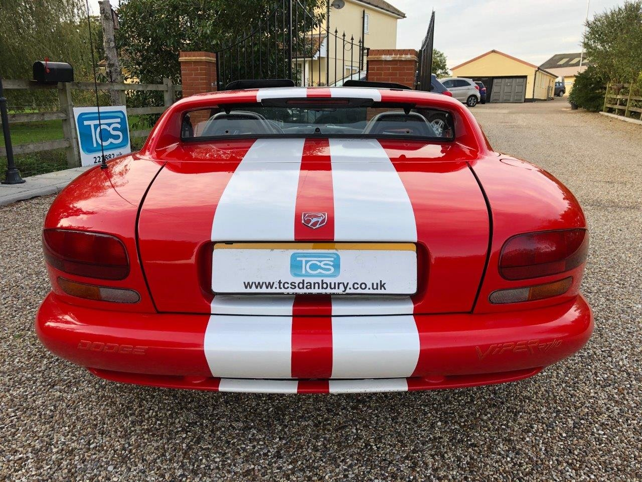 1992 Dodge Viper RT/10 8.0L V10 400bhp 6-Speed Manual For Sale (picture 5 of 6)