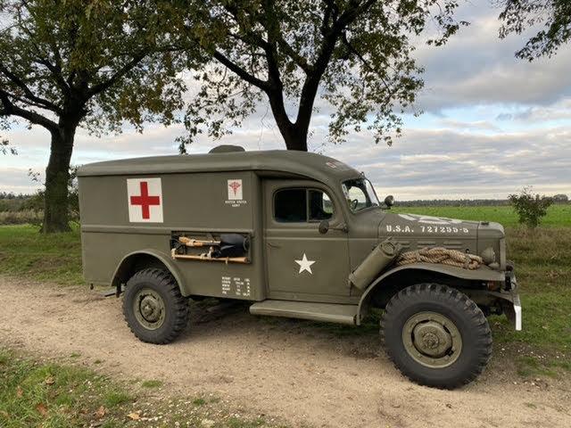 1943 Dodge WC54, Dodge Ambulance , WW2 Dodge SOLD (picture 1 of 6)