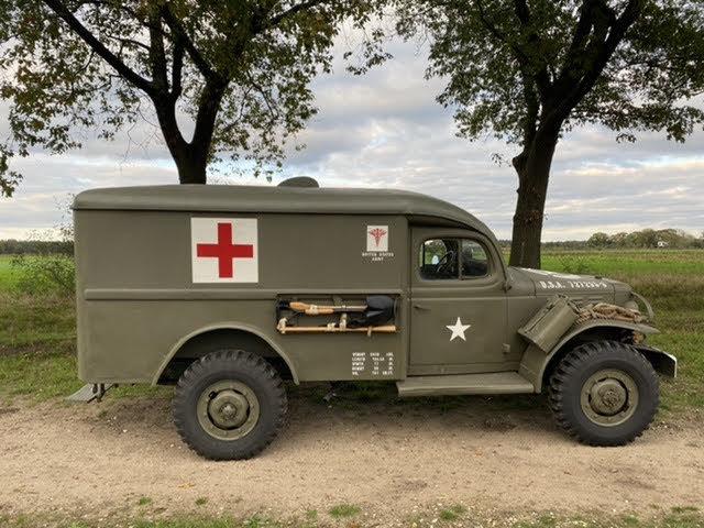 1943 Dodge WC54, Dodge Ambulance , WW2 Dodge SOLD (picture 4 of 6)