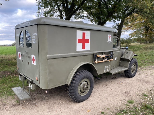 1943 Dodge WC54, Dodge Ambulance , WW2 Dodge SOLD (picture 6 of 6)