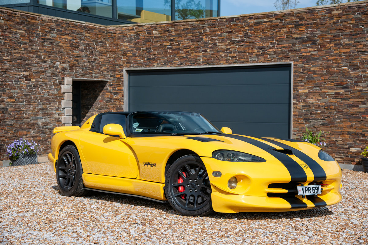 2002 DODGE VIPER RT/10 SUPERCHARGED 742 HP For Sale (picture 1 of 6)