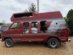 Dodge B250 Camper part restored.