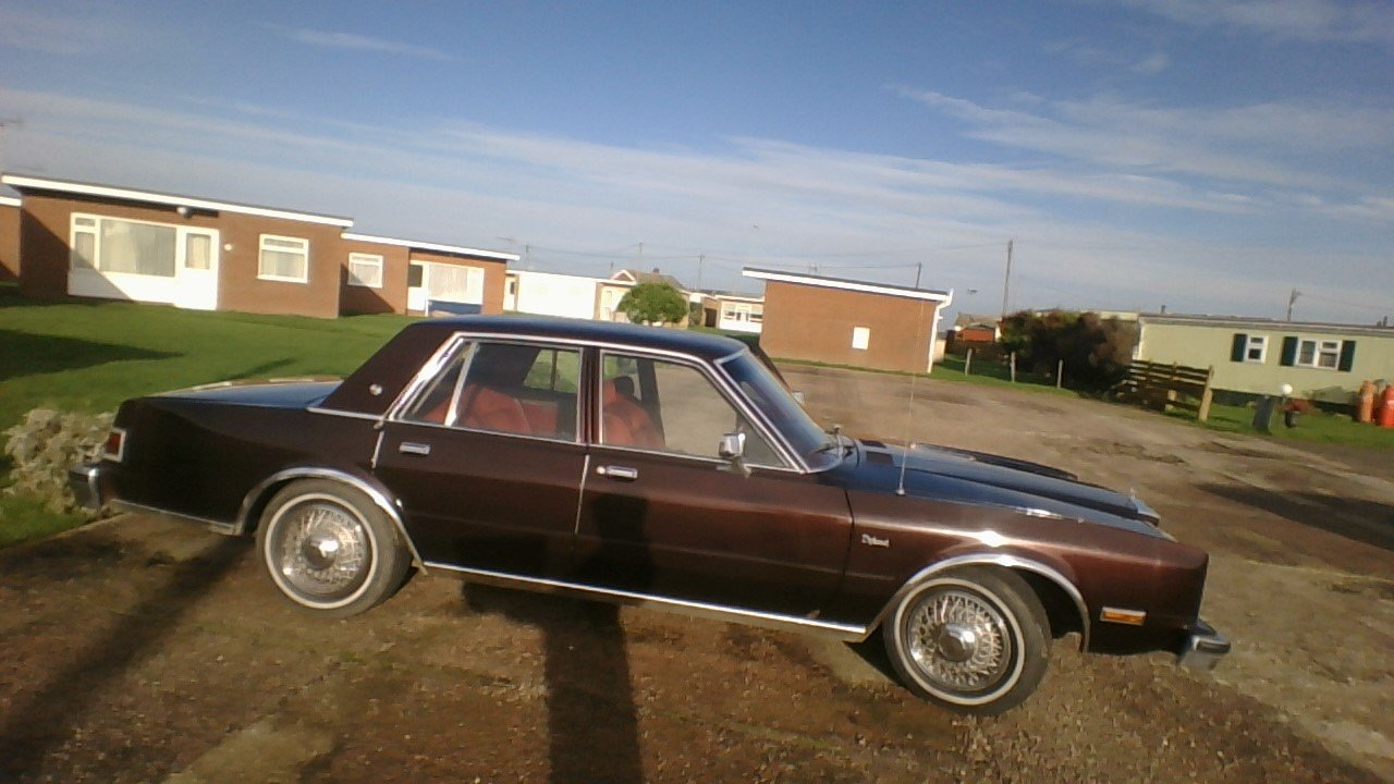 1988 Dodge diplomat se 5.2 v8 £3,200 ono SOLD (picture 1 of 6)