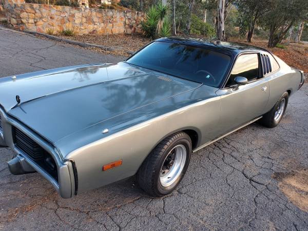 1974 Dodge Charger 440 sunroof For Sale (picture 1 of 6)