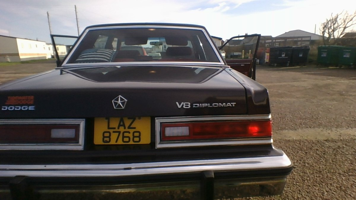 1988 Dodge diplomat se 5.2 v8 £3,200 ono SOLD (picture 6 of 6)
