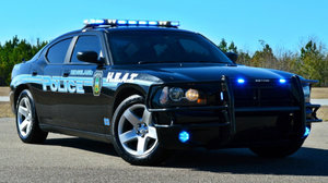 Dodge Charger pursuit police car 5.7 V8