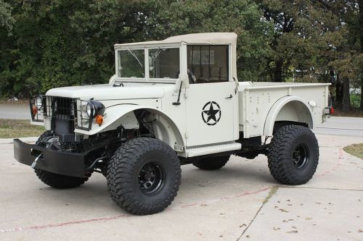 1952 US Army Dodge M37 Power Wagon. For Sale (picture 8 of 8)
