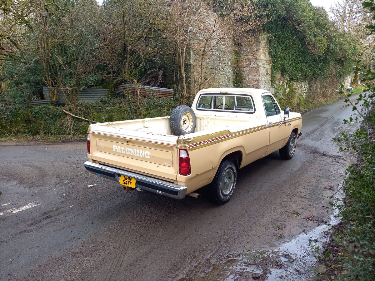 1979 Dodge 150 rare Palamino edition For Sale (picture 2 of 12)