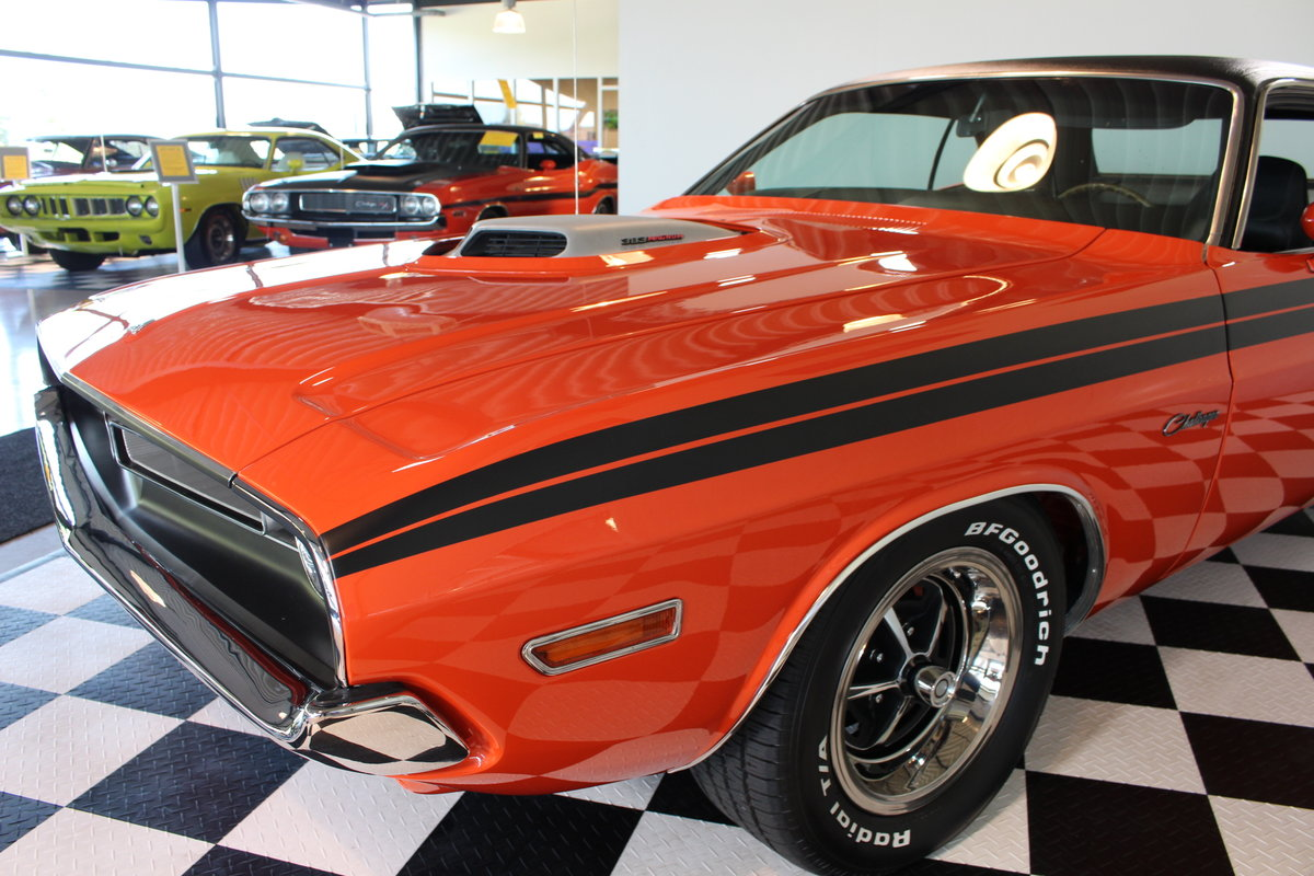 1971 Challenger SHAKER RT rare & in concours condition ! For Sale (picture 10 of 12)