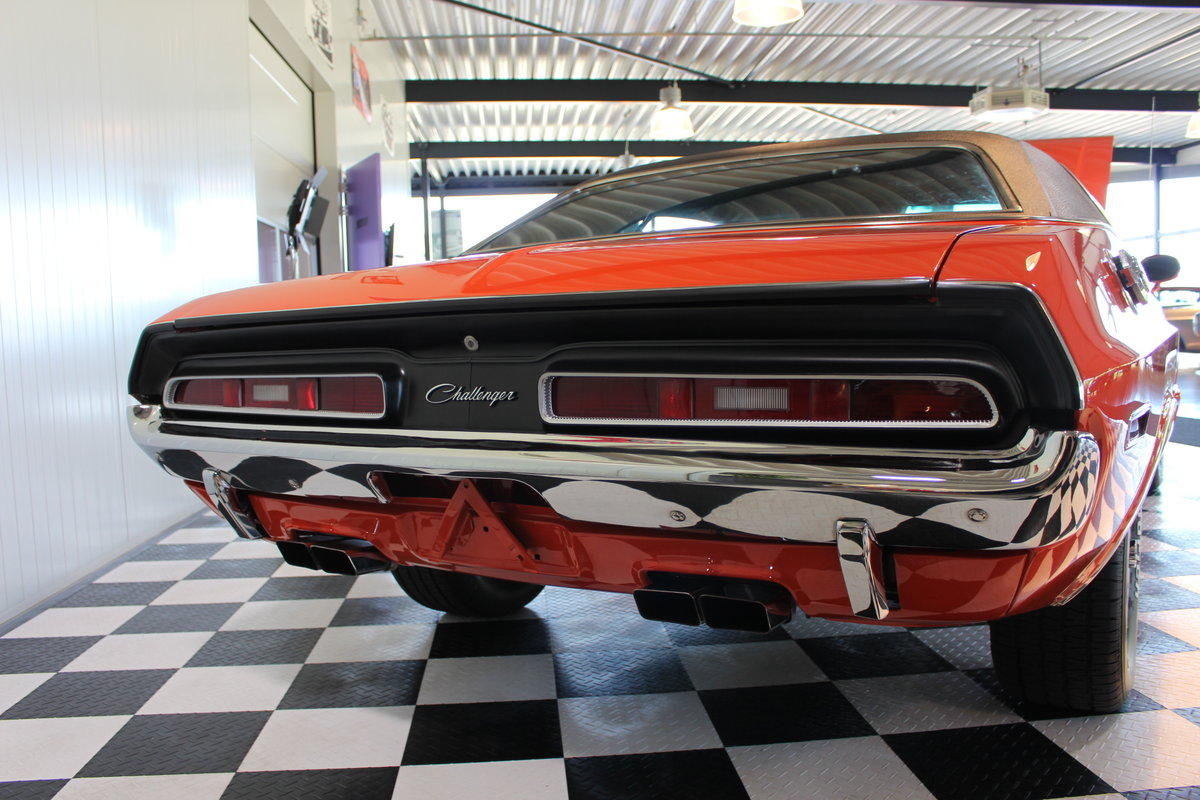 1971 Challenger SHAKER RT rare & in concours condition ! For Sale (picture 11 of 12)