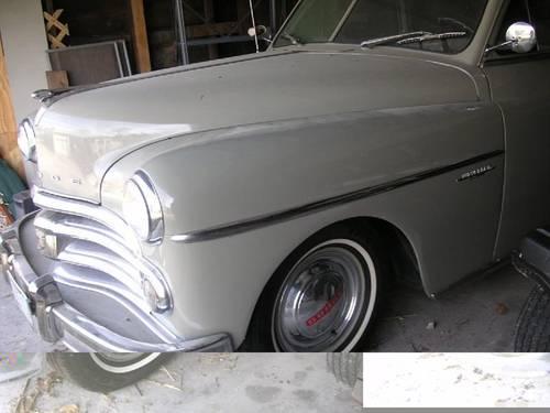 1950 Dodge Wayfarer 2DR Fastback For Sale (picture 2 of 2)