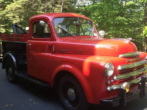 1949 Dodge B1B Tow Truck For Sale (picture 1 of 6)