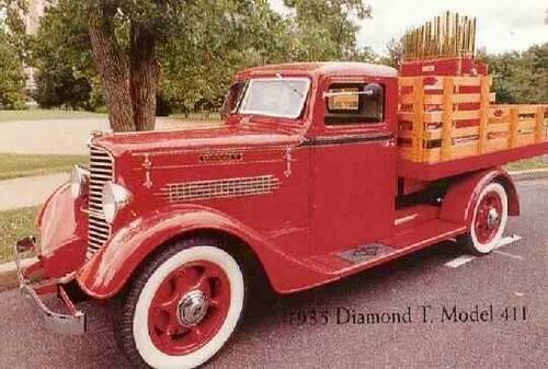1936 Diamond T Stake Truck For Sale (picture 1 of 6)